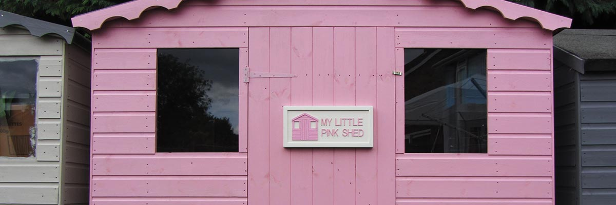 About My Little Pink Shed